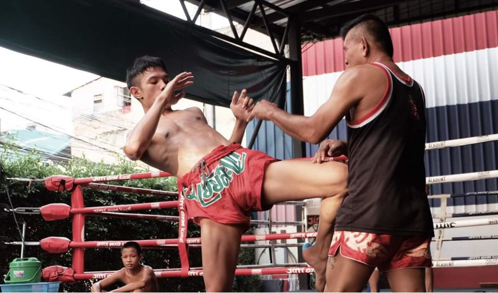 Jitti gym muay thai